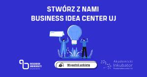 Buisiness idea center UJ - logo projektu